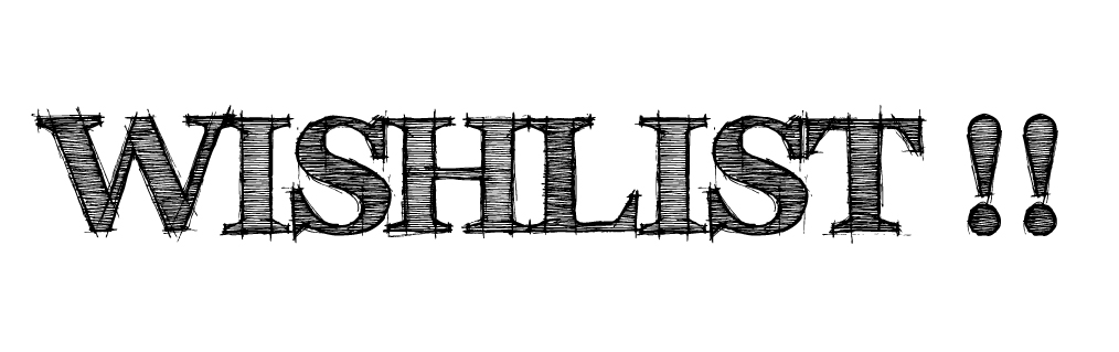 Catalogues 2017 Wishlist