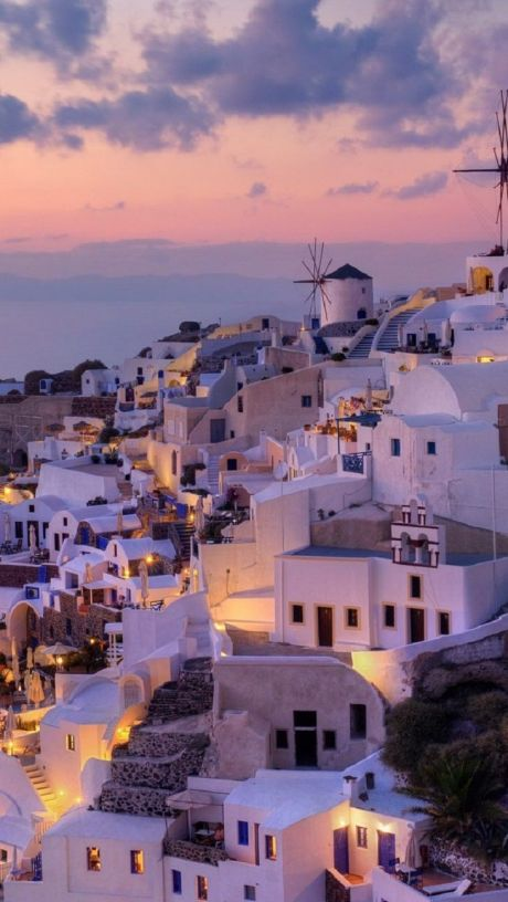 greece by night
