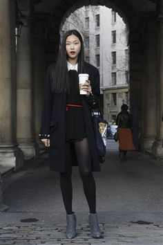 fashion week starbucks